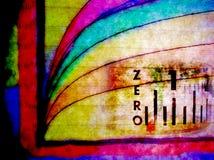 Gráfico científico coloreado imagen de archivo
