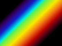 Gráfico claro do espectro ilustração do vetor