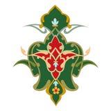 Gráfico colorido decorativo dos ornamento do mundo do mosaico oriental abstrato ilustração royalty free