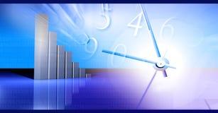 Gráfico crescente do negócio Foto de Stock