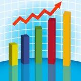 gráfico 3D. 10 eps Imagens de Stock