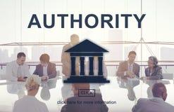 Gráfico da coluna da lei da autoridade governamental fotos de stock