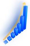 Gráfico da cor Imagens de Stock