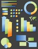 Gráfico da informação ilustração royalty free