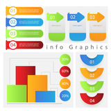 Gráfico da informação Imagem de Stock