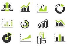 Gráfico da informação Fotos de Stock