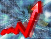 Gráfico da planta. Imagem de Stock