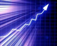 Gráfico da seta Imagens de Stock Royalty Free