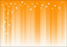 Gráfico de asunto de descoloramiento anaranjado stock de ilustración