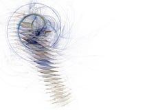 Gráfico de asunto - ojo de la cerradura ilustración del vector