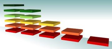 Gráfico de color Imagen de archivo