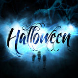 Gráfico de Halloween Imagenes de archivo
