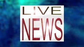 Gráfico de la abertura de las noticias de la TV libre illustration