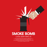 Gráfico de la bomba de humo Imagenes de archivo