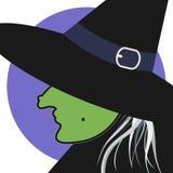 Gráfico de la bruja Fotografía de archivo libre de regalías