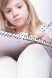Gráfico de la chica joven Imagen de archivo libre de regalías