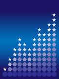 Gráfico de la estrella Fotografía de archivo