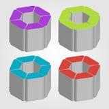 gráfico de la flora 3d Fotografía de archivo libre de regalías