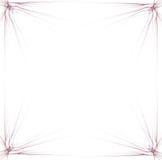 Gráfico de la frontera/de asunto - fondo rojo 1 Fotos de archivo libres de regalías