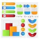 Gráfico de la información Imagen de archivo