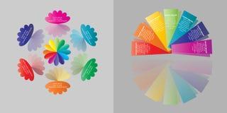 Gráfico de la información del negocio Imágenes de archivo libres de regalías