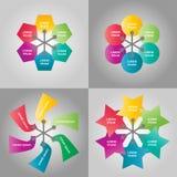 Gráfico de la información del negocio Imagen de archivo libre de regalías