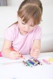 Gráfico de la muchacha foto de archivo libre de regalías