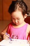 Gráfico de la niña foto de archivo libre de regalías