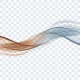 Gráfico de la onda foto de archivo