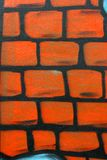 Gráfico de la pintada de la pared Imágenes de archivo libres de regalías