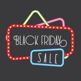 Gráfico de la venta de Black Friday Fotografía de archivo libre de regalías