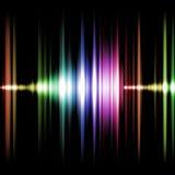 Gráfico de los sonidos Fotografía de archivo