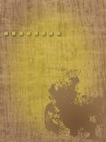 Gráfico de papel de madeira do fundo com borrão, quadrados Imagens de Stock Royalty Free