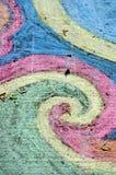 Gráfico de tiza de la acera Foto de archivo