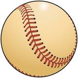 Gráfico de un béisbol Fotos de archivo libres de regalías