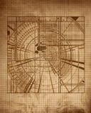 Gráfico de un edificio Imagen de archivo libre de regalías