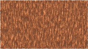Gráfico de vector del fondo del tema de la corteza en marrón ilustración del vector