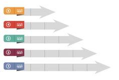 Gráfico del desarrollo Foto de archivo libre de regalías
