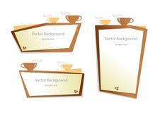 gráfico del fondo del café del vector libre illustration