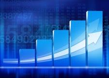 Gráfico del gráfico stock de ilustración