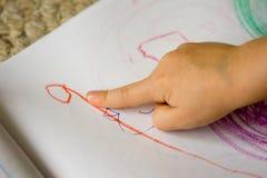 Gráfico del niño Fotografía de archivo
