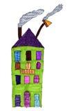Gráfico del niño de un condominio libre illustration