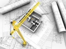 Gráfico del plan Imagen de archivo