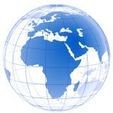 Gráfico del planeta 3d Fotos de archivo libres de regalías