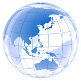 Gráfico del planeta 3d Imagen de archivo