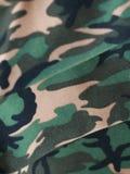 Gráfico del soldado en tela Fotografía de archivo libre de regalías