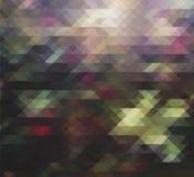 Gráfico del triángulo del fondo imagen de archivo libre de regalías