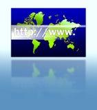 Gráfico do Internet Foto de Stock Royalty Free