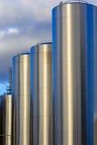 Gráfico do silo do leite Foto de Stock