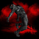 Gráfico do super-herói ilustração stock